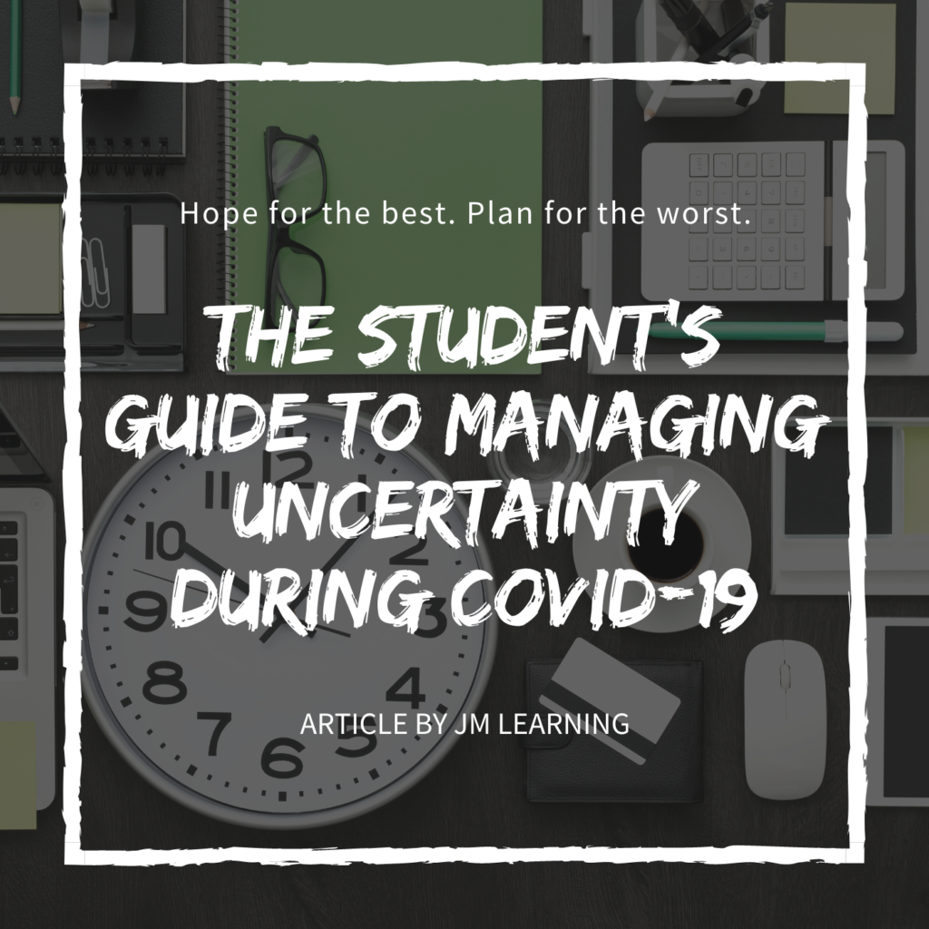 The student's guide to managing uncertainty during COVID 19 article cover 1024x1024 - JM Scoop