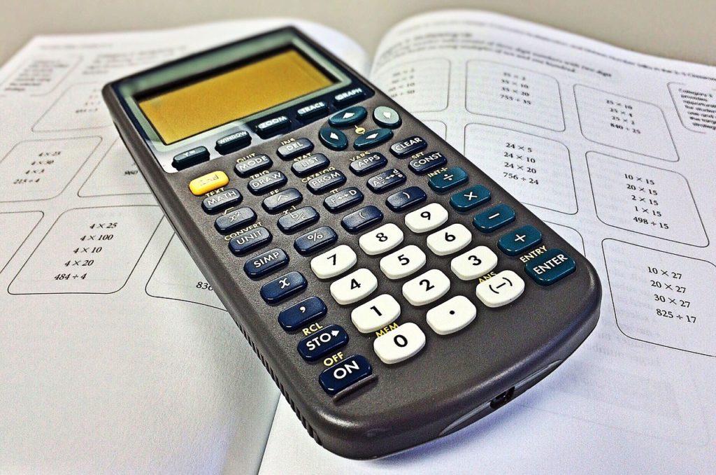 calculator, math, mathematics