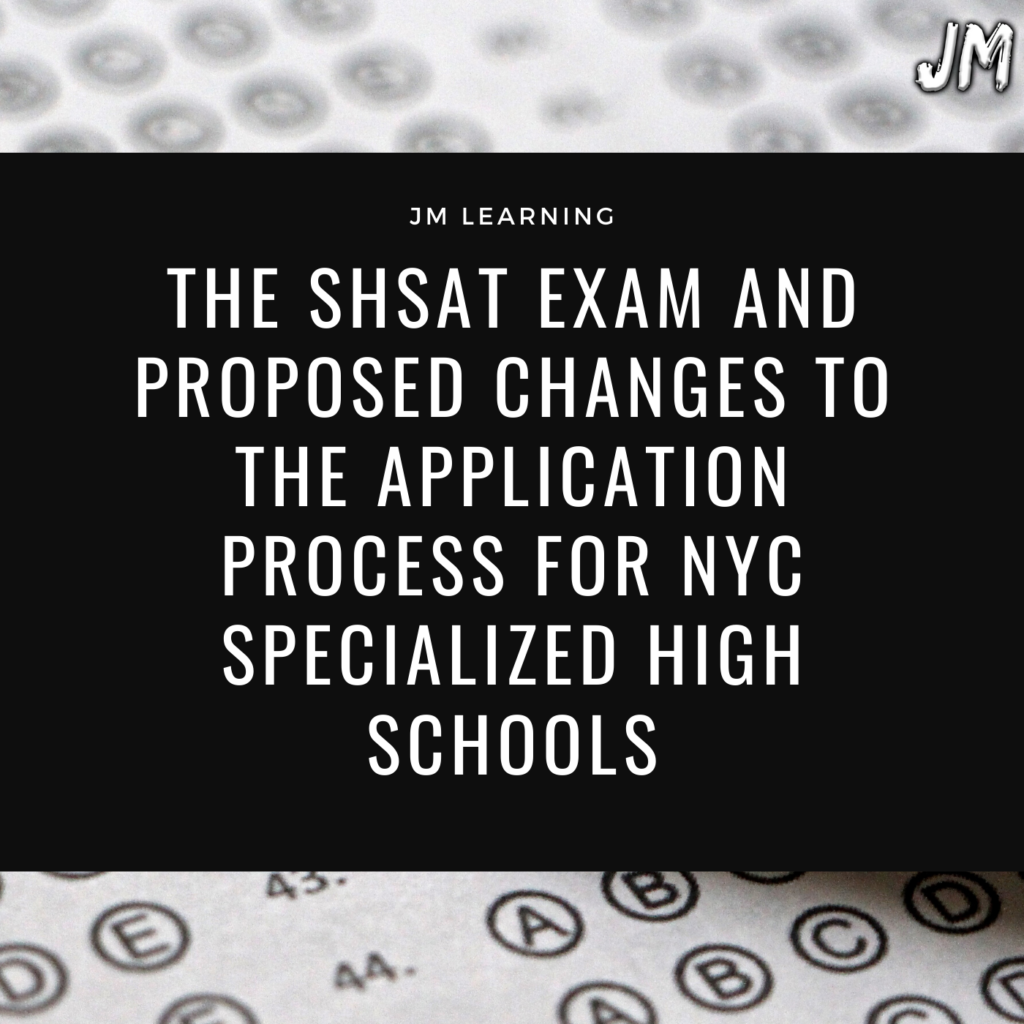 The New SHSAT Exam article 1024x1024 - JM Scoop