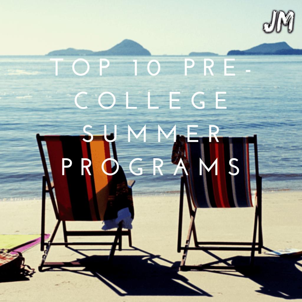 top 10 pre college summer programs blog 1 1024x1024 - Top 10 Pre-College Summer Programs